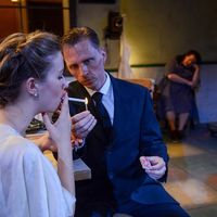 Maggie Scrantom, John Henry Roberts, and Anita Deely in After Miss Julie