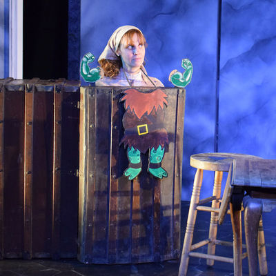 Nicole Bloomsmith in Hershel and the Hanukkah Goblins.